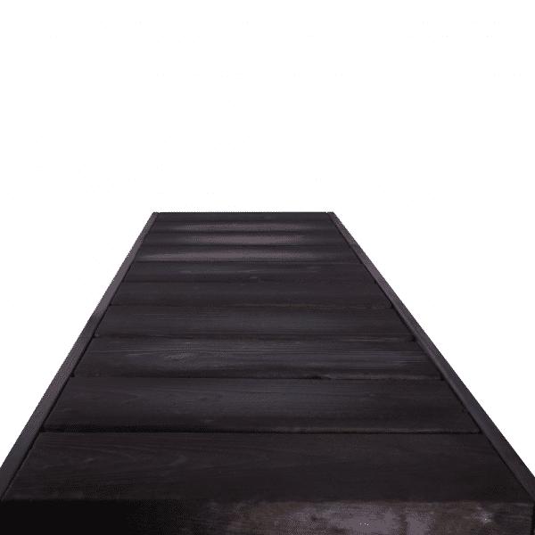 Valmislauteet Basic 500x2000 (stout), lauteiden pinta.