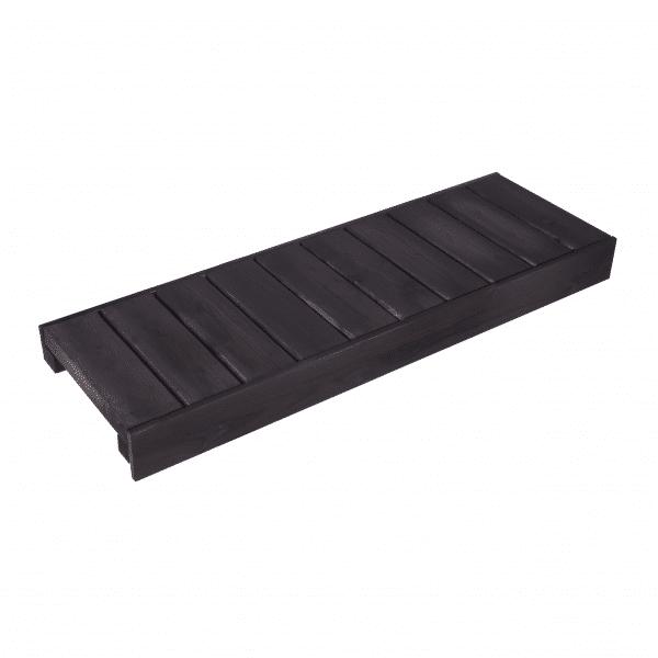 Valmislauteet Basic 500x2000 (stout), lauteet viistosta.